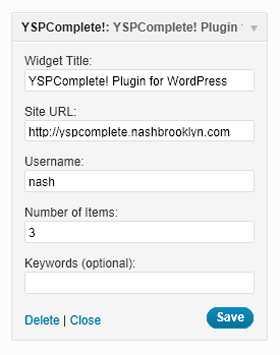 yspcomplete plugin for wordpress screenshot-3
