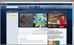miniPandora: Free mini browser for Pandora.com