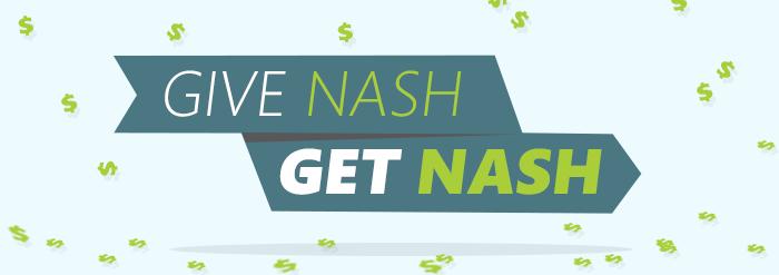 Give Nash = Get Nash