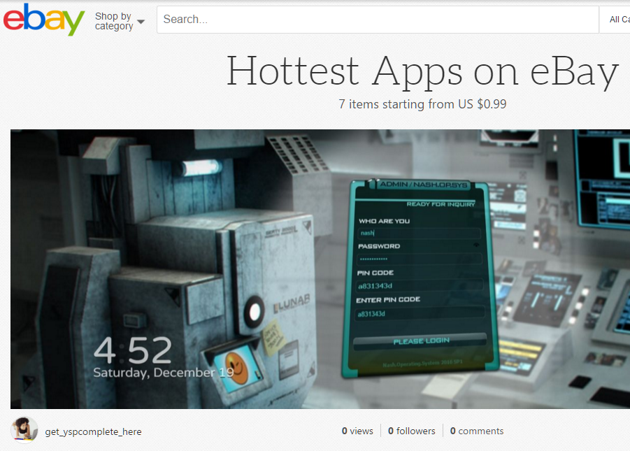 Hottest Apps on eBay