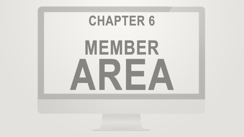 Chapter 6 - Member Area