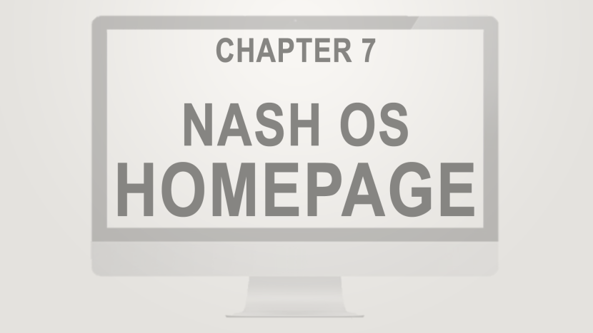 Chapter 7 - Homepage